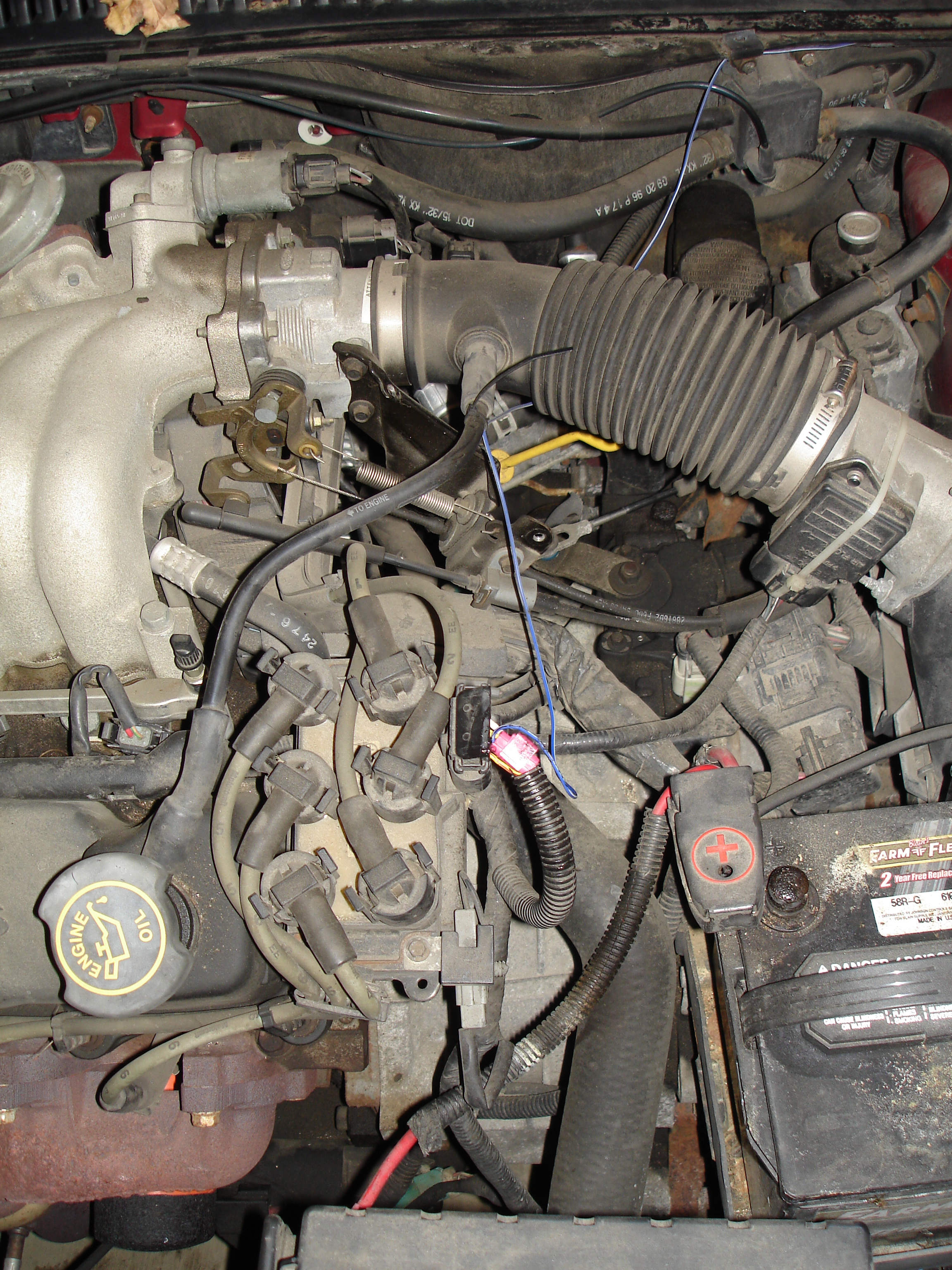 05 Silverado Crankshaft Alignment Sensor Wiring Diagram Library Engine Replace A Camshaft Position 1997 Ford Taurus