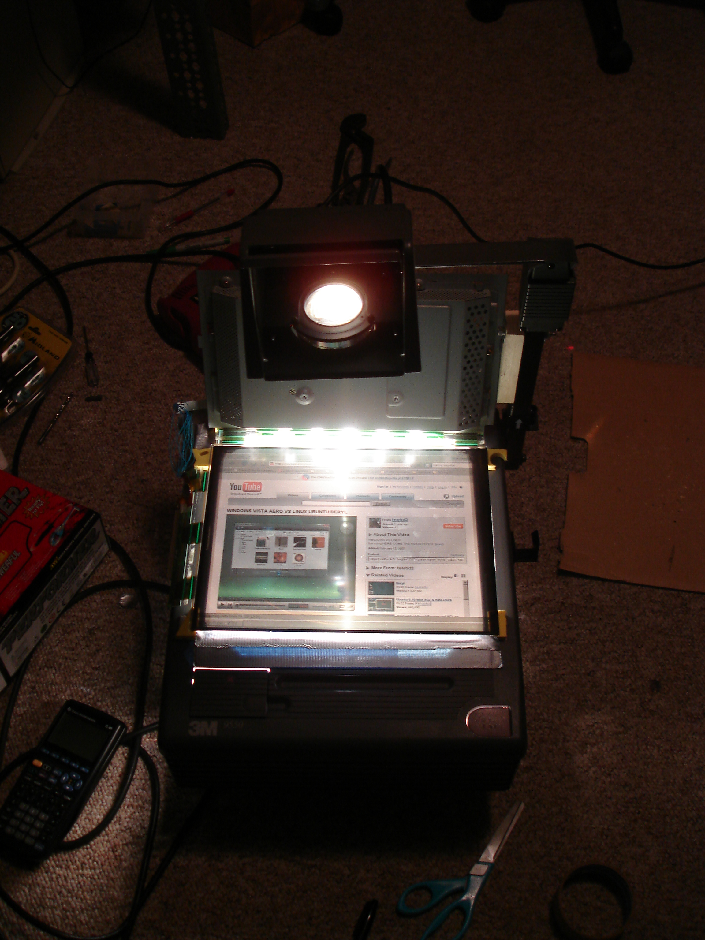 Lcd Overhead Projector Previously On Instructables