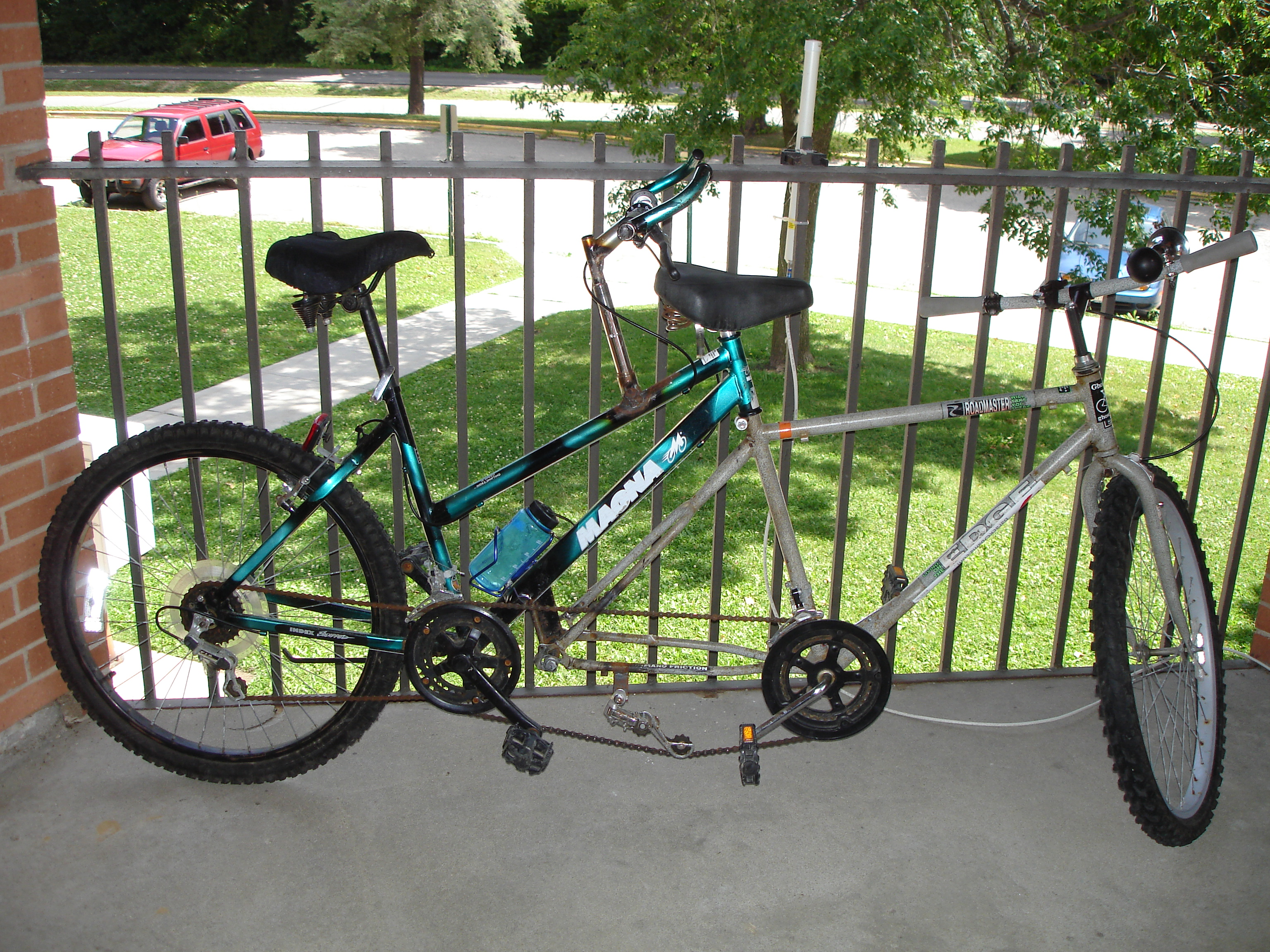 How to make a bike tandem do it yourself 45