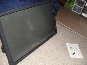 """42\"""" NEC Plasmasync Monitor"""