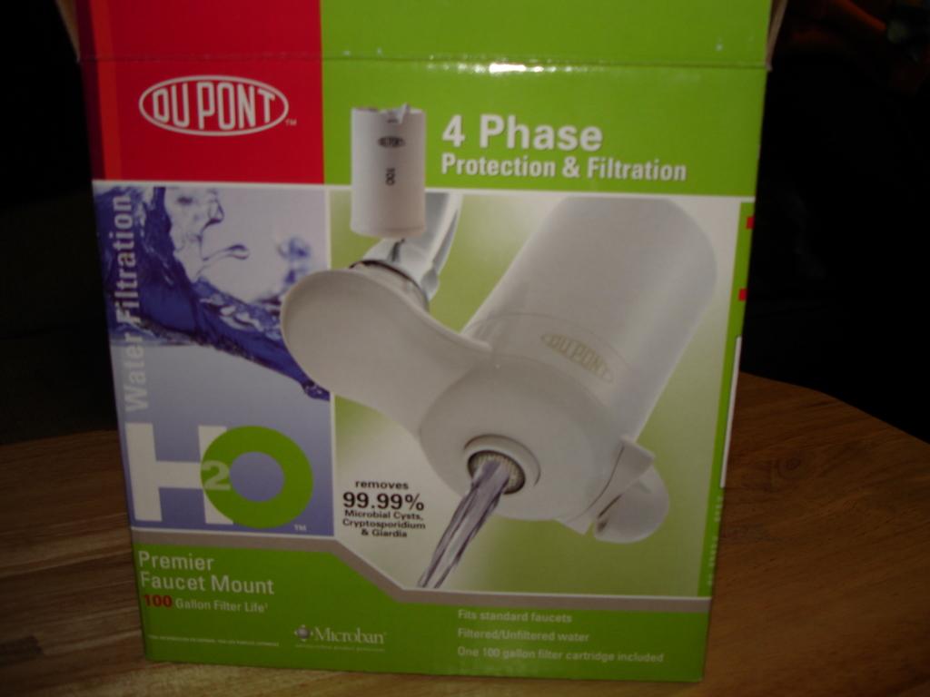 PUR / Dupont / OmniFilter Faucet Mount Filter Failure / Broken ...