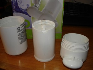 Dupont Faucet Mount Filter - Cartridge takes pressure inside housing