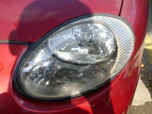 Ford Taurus Headlight after Repair